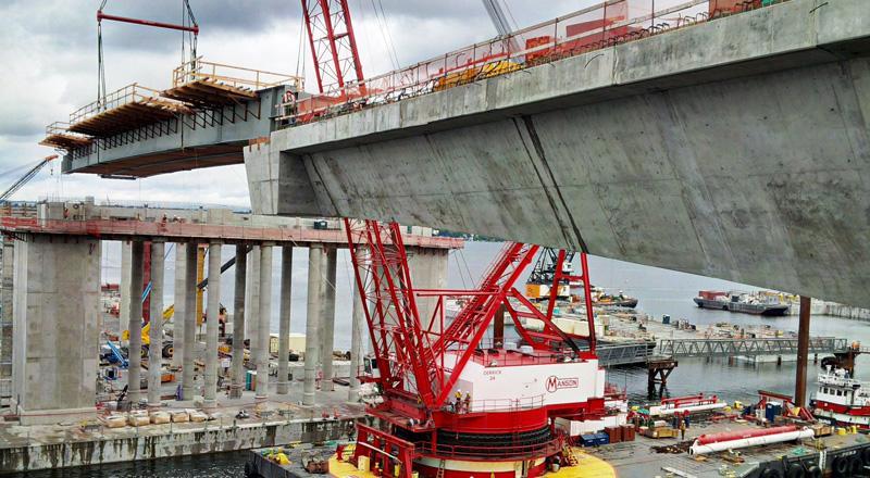 Design-Build Evergreen Point Floating Bridge and Landings