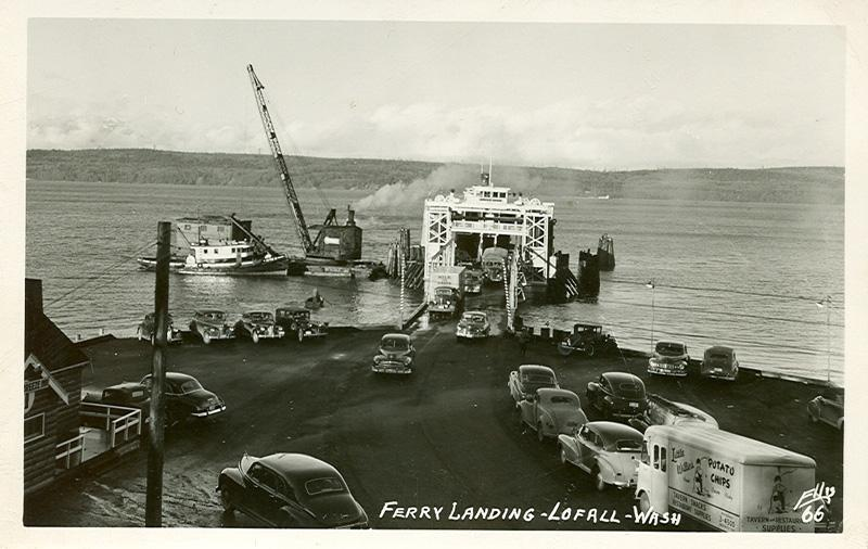059   Ferry Landing At Lofall, 1921optweb