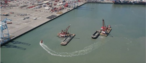 Oakland Harbor Navigation Improvements, 50' Deepening Project Phase 3E