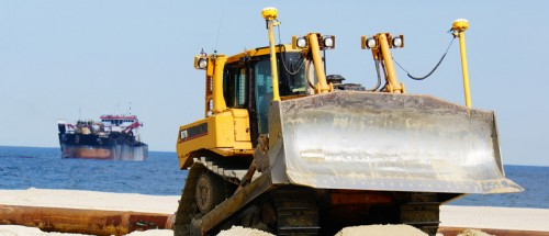 Long Branch Beach Fill Nourishment