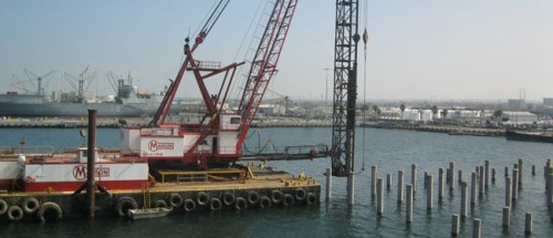 Design-Build, P-327 Demolition and Replacement of Pier 12 and Upgrades to Pier 13